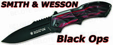Smith & Wesson Black Ops 3 Assisted RED Plain SWBLOP3R
