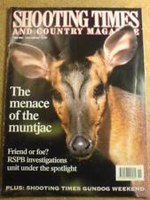 SHOOTING TIMES - MUNTJAC - 7 May 1998 # 5011