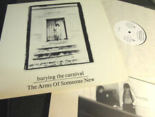 The Arms of Someone New Burying the Carnival NM LP rare orig vinyl 1984