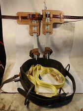 New ListingBuckingham Adjustable Steel Pole/Tree Climbing Spurs/Spikes/Gaffs Kit