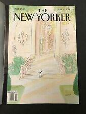 Magazine Journal THE NEW YORKER mars 2001 Sempé