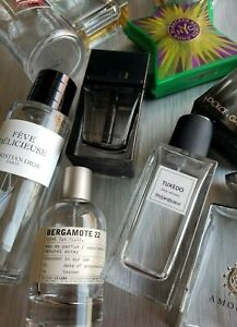 EMPTY Perfume Bottles - Creed Dior Chanel Le Labo YSL and MORE