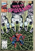 Web Of Spider-Man #98-1993 fn+ 6.5 2nd app Nightwatch Spiderman