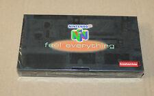 Old Promo German Nintendo 64 N64 VHS Cassette New & Sealed The legend of Zelda