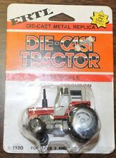 ERTL Massey-Ferguson Tractor w/ Cab Diecast Metal Replica 1/64 Scale Ages 3 & Up