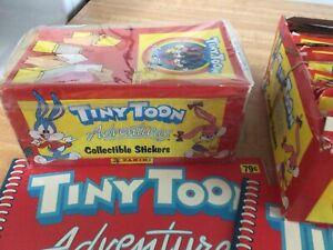 Tiny Toon Adventures Panini Sticker Box / Book Lot