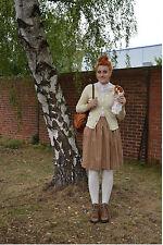 Damen Strick Strickjacke Oktoberfest Wiesn Wasen 70er TRUE VINTAGE knitwear NOS