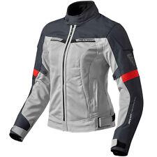 Giacche Rev ' it per motociclista argento tessuto