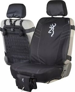 Browning Tactical Seat Cover 2.0, Pockets Black