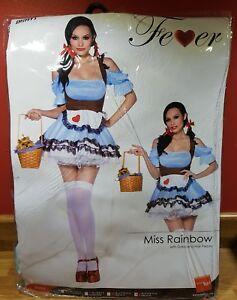 FEVER  Miss Rainbow Dorothy Disney Women's Fancy Dress Costume (Smifys)