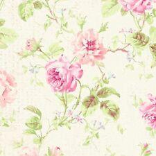 Romantic FRENCH ROSES Ceramic KNOB door cabinet drawer chic shabby Wallpaper