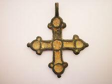 ANCIENT RARE Viking CROSS PENDANT Viking Kievan Rus ca 10-12 century AD##3