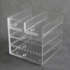 Clear Acrylic Cosmetic & Makeup Organizer  /Jewellery Storage Cabinet Box