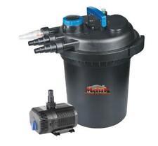 Mauk Teichdruckfilter 13W UV-C Teich Druckfilter Teichfilter Wasserfilter UVC