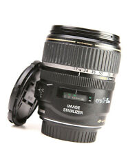 Canon EF-S 17-85mm F4-5.6 IS Image Stabilizer USM Lens + Front & Rear Lens Caps