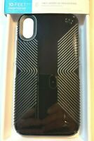 Speck Presidio GLOSSY GRIP Case for Apple iPhone XR Black Free Shipping