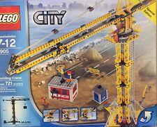 LEGO City Building Crane (7905) Rare, Brand New, Sealed Box