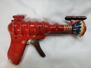 Vintage Atomic Space Toy - Z-Z Ray Gun - All-Metal Prod Co. - Wyandotte, Mich.