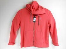 Women Tommy Hilfiger Orange Full Zip Hooded Knit Jacket...