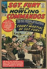 Sgt Fury & His Howling Commandos - Court-Martial - 1964 (Grade 3.5/4.0) WH