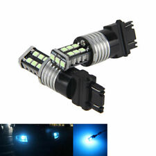 2pcs Ice Blue 3156 3157 3757 4114 4157 15LED 3528 Daytime Running Light Bulb