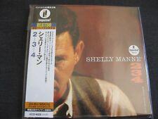 SHELLY MANNE, 2 3 4, JAPAN CD Mini LP, UCCI-9029, Impulse BEST50,24 bit remaster
