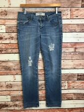 Abercrombie & Fitch Womens Erin Jeans Size 2s 26/31 Destroyed Stretch Skinny