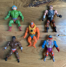 Lot Vintage MOTU Masters of the Universe He-Man Figures As Is Rare Lot 1 of 3