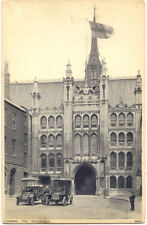 CPA ANGLETERRE ENGLAND LONDRES LONDON the guildhall cars