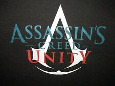 Assassins Creed Unity Video Game Black T Shirt Sz XXL **NWT** PS3 PS4 X Box