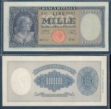 """REPUBBLICA ITALIANA 1.000 LIRE """"TESTINA"""" DEC.20/03/1947 RARO 2 STUPENDO/Q.F.D.S."""