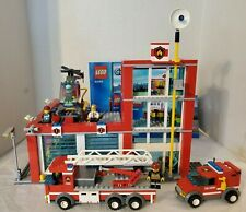 LEGO City Fire Station 60004 - 100% COMPLETE with Manuals