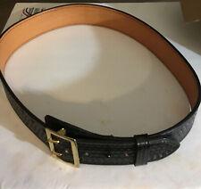 Dutyman 1021u Dutyman Black Full Grain Leather Size Police Belt 42