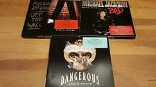 michael jackson special edition cd collection rare bad dangerous off the wall