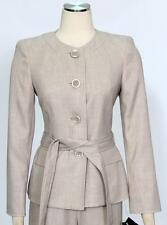 Le Suit Light Khaki Jacket Only Size 16P Polyester Women's New *