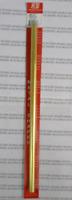 K&S 8137 7/16 (11.11mm)  Outside Diameter Round Brass Tube (Pk1)