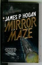 THE MIRROR MAZE by James P. Hogan, Bantam sci-fi pulp vintage pb