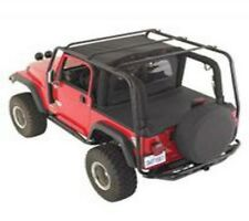 Smittybilt 1997-2006 Jeep Wrangler TJ SRC Roof Rack Black Textured 76713