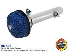 Air Intake System fur SUZUKI Swift 1.3 1.5 1.6 Sport MK2 ZC31S ZD
