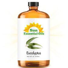 Eucalyptus Essential Oil (Mega 16oz) 100% Pure Amber Bottle + Dropper