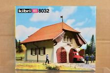 KIBRI 8032 HO SCALE COUNTRY FIRE STATION GARAGE MODEL RAILWAY LAYOUT KIT nq
