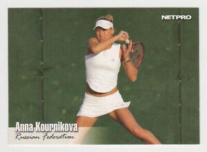 ANNA KOURNIKOVA 2003 Netpro Tennis ROOKIE Card RARE SP #10 MINT Russian RC