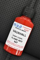 VAUXHALL FLAME RED MAGMA RED 547 79L PAINT TOUCH UP KIT 30ML SCRATCH CHIP BRUSH