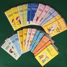 SCHULZ - TASCABILI PEANUTS Serie Completa 25 numeri , Ed. Resto Carlino (2000)