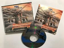 SEGA MEGA-CD GAME THUNDERHAWK +BOX & INSTRUCTIONS COMPLETE PAL GWO