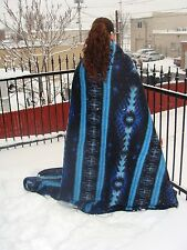 #5 Recycled Geo Design Alpaca Wool Blend Fiber Blanket Assorted Eco Friendly