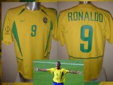 Brazil Brasil XXL RONALDO Vintage Shirt Jersey Soccer 2002 NIKE Football 4* Top