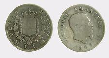 pci4468) VITTORIO EMANUELE II (1861-1878) 1 LIRA STEMMA 1863 MI AR