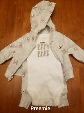 Child Of Mine Carter's Boys 3 Piece Mommy's Baby Bear Outfit Size Preemie New