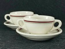 Vintage Syracuse Vandesca Restaurant Ware Soup Cup And Saucer Vitrified  Canada